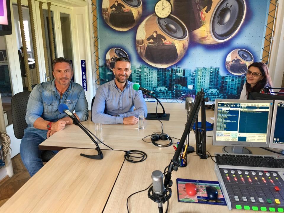 Mihai Nenciu, Nicu Rotaru si Auris Luca la Radio Sky