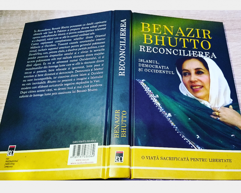 Benazir Bhutto Editura RAO