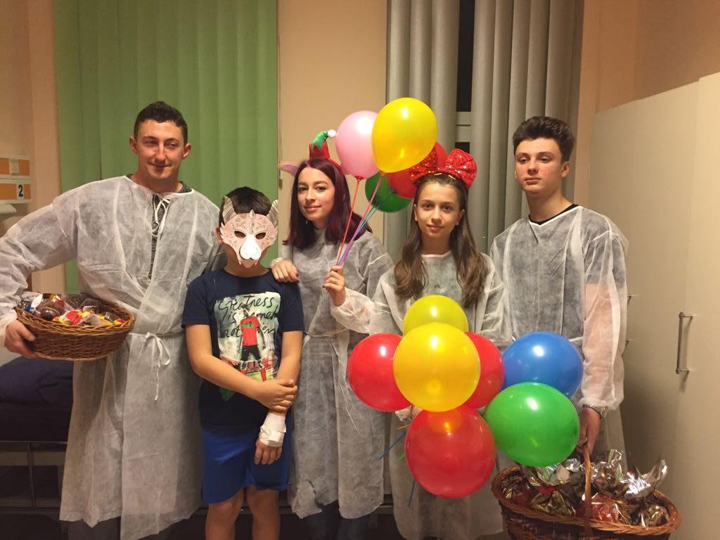 Elfii la Spitalul Judetean Constanta