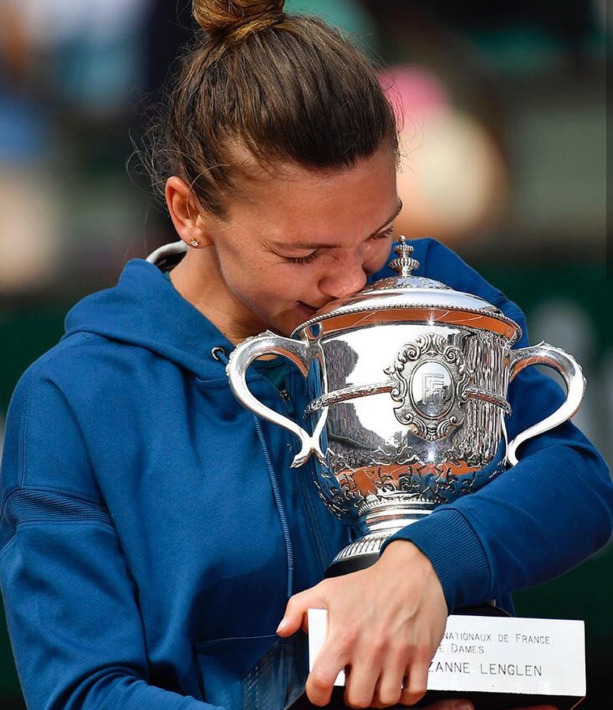 Simona Halep campioana